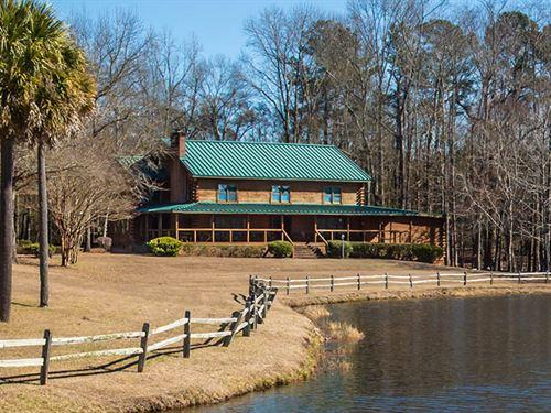 Graham's Turnout Plantation : Blackville : Bamberg County : South Carolina