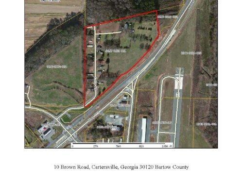 25 Pad Mobile Home Park : Cartersville : Bartow County : Georgia