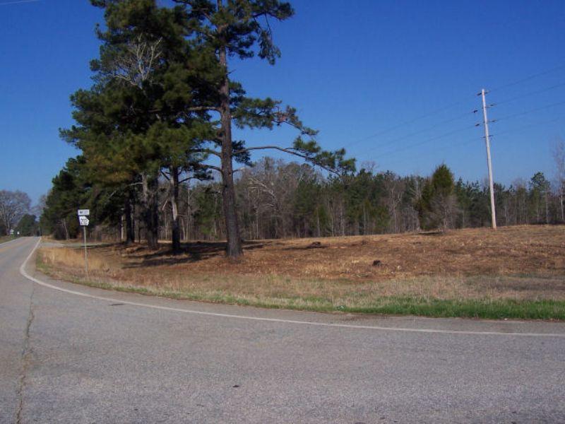 Potential Pasture Or Small Estate : Monticello : Jasper County : Georgia