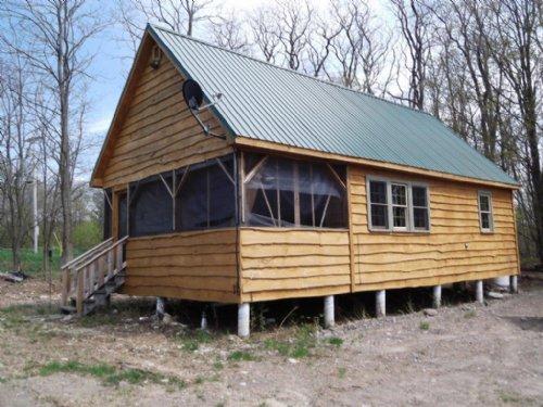 Brand New Cabin On 11+ Acres : Orwell : Oswego County : New York