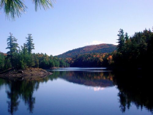Tub Mill Pond : Moriah : Essex County : New York