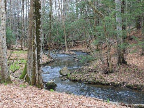 New York Land Borders Adirondacks : Broadalbin : Fulton County : New York