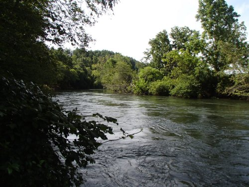Toccoa River Access : Blue Ridge : Fannin County : Georgia