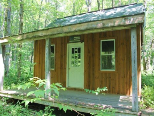 Cabin Surrounded By State Lands : Florence : Oneida County : New York