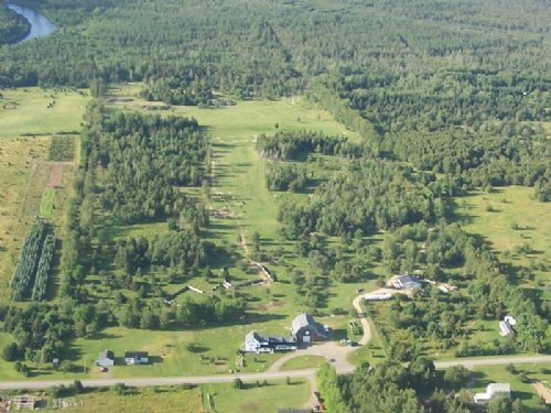 Homestead Lodge : Oxbow : Aroostook County : Maine