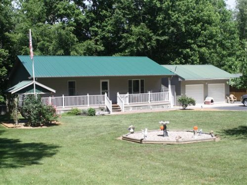 Beautiful Riverfront Home : Albany : Clinton County : Kentucky