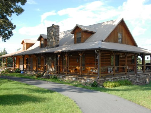 152 Acres And Log Home : Damascus : Van Buren County : Arkansas