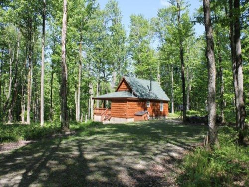 Off- Grid, Turn-key Cabin On 6+ Ac : Redfield : Oswego County : New York