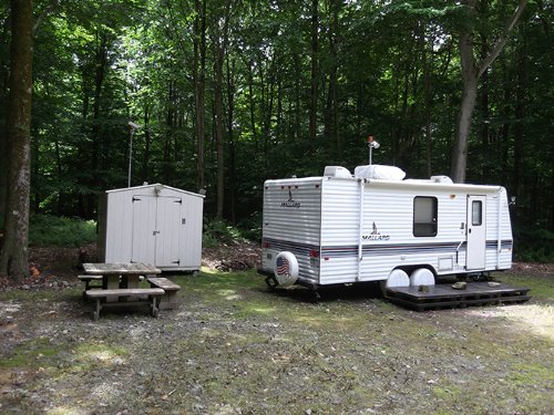 Camper 6 Acres Walk To Lake : Amboy : Oswego County : New York