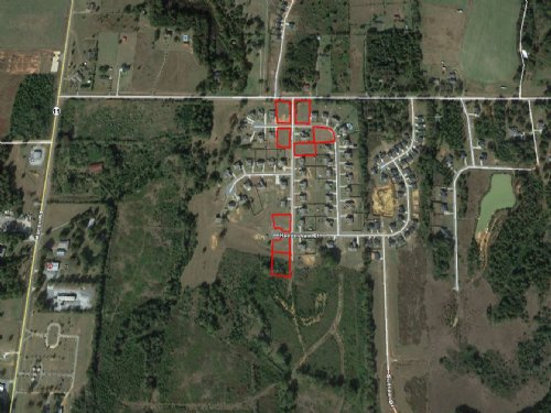 8 Residential Lots : Perry : Houston County : Georgia