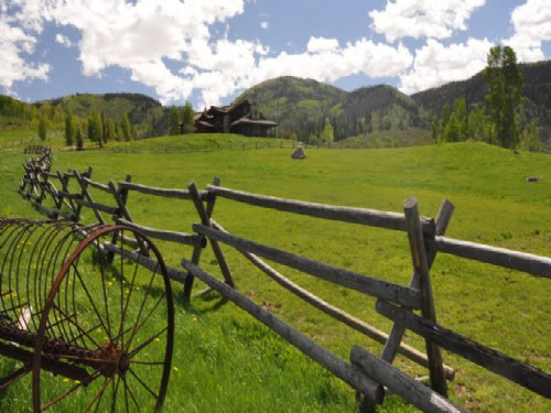 Big Creek Ranch : Steamboat Springs : Routt County : Colorado