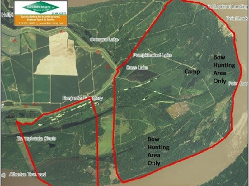Ownership & Camp In MS River Hu : Transylvania : East Carroll Parish : Louisiana