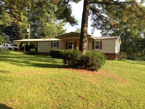 3 Br/2 Ba Mobile Home On 3.42 Ac : Troy : Pike County : Alabama