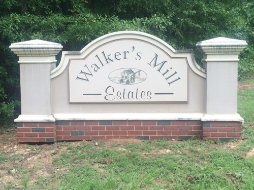 Walkers Mill Estates Subdivision : Griffin : Spalding County : Georgia