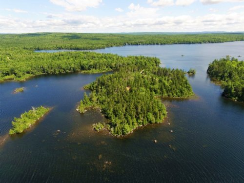 Cathance Lake Peninsula + Island : Cooper : Washington County : Maine