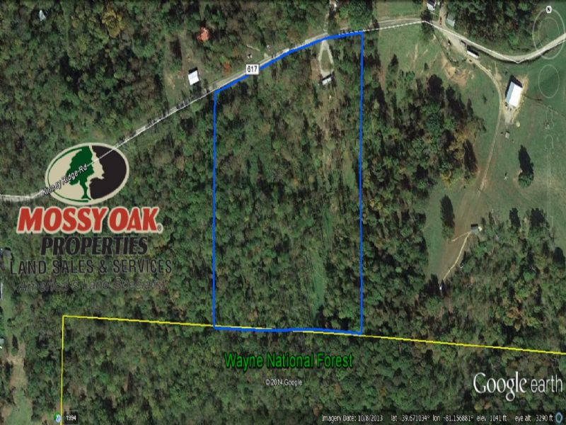 Woodsfield Ohio Map.13 Acre Hunting Camp On Public Land For Sale Woodsfield Monroe
