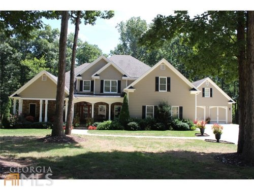 Stunning Custom Home On 3+ Acres : Monroe : Walton County : Georgia
