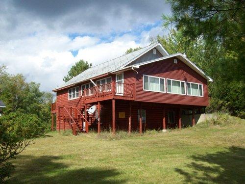 Love Lake Log Home & Cottage : Crawford : Washington County : Maine