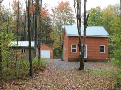 Hunting Camp Borders State Forest : Florence : Oneida County : New York