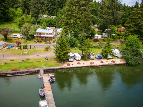 Darlings Marina & rv Resort : Florence : Lane County : Oregon