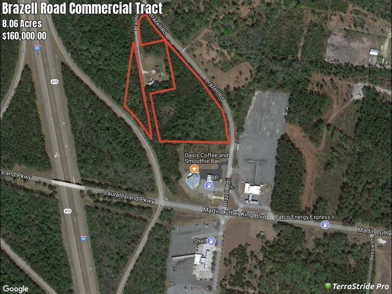Map Of Georgia 95.Interstate Comercial I 95 Exit 6 Ga Land For Sale Kingsland