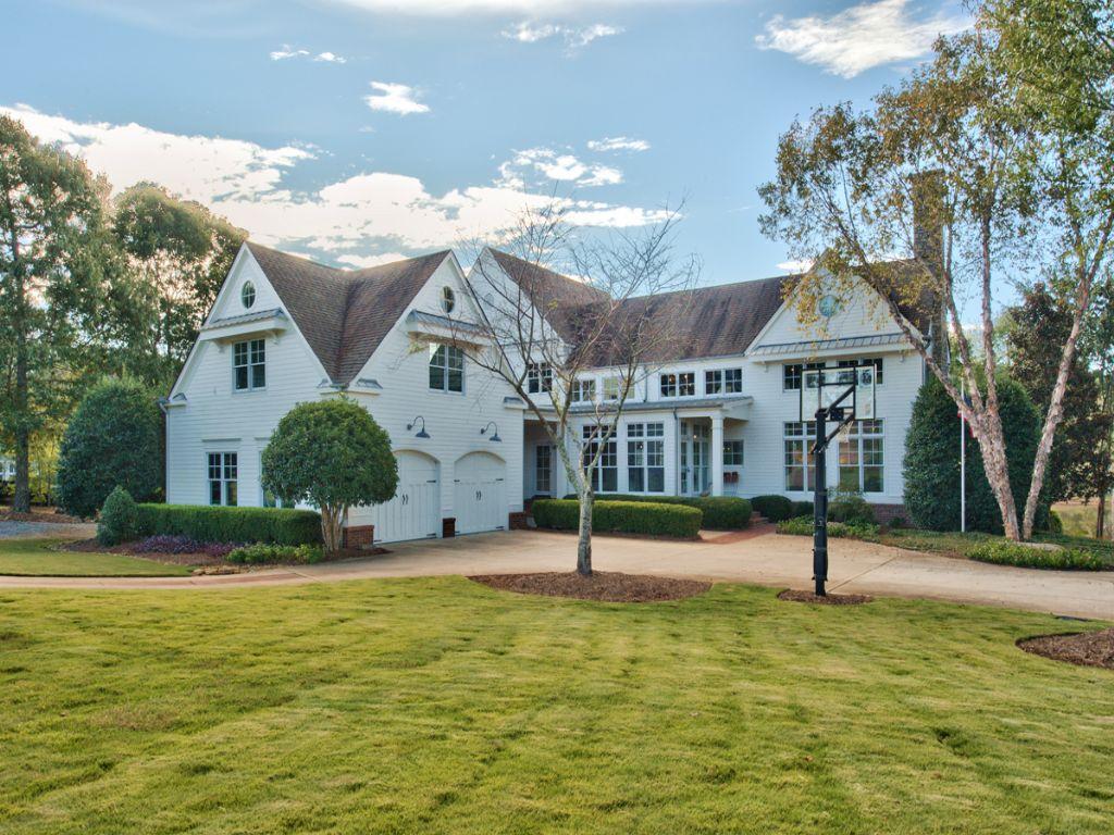 Modern Farmhouse On 4ac With Pond : Land for Sale : Eatonton