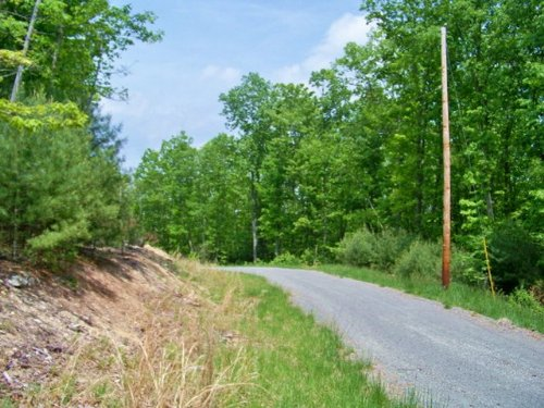 5 Elevated Acres W/ Good Topography : Independence : Grayson County : Virginia
