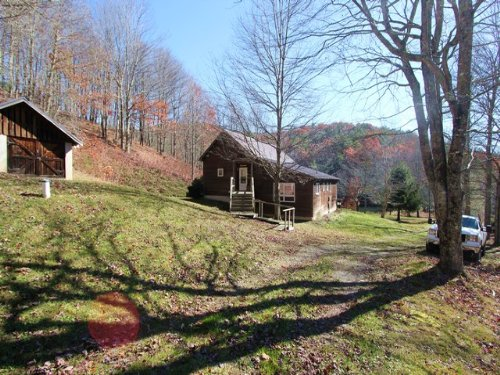 148 Acres And Cabin Joining Jnf : Troutdale : Grayson County : Virginia