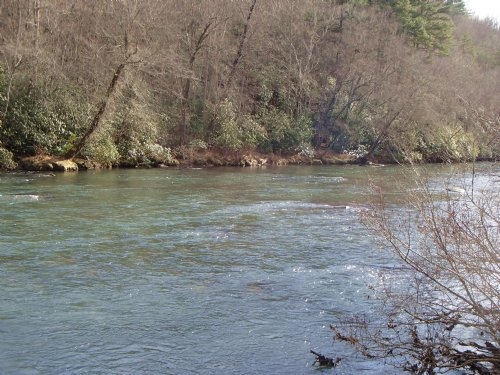 Toccoa River : Blue Ridge : Fannin County : Georgia