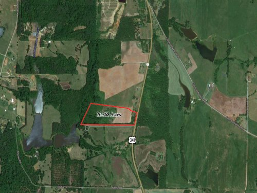 26.686 Acres For Sale : Barnesville : Lamar County : Georgia