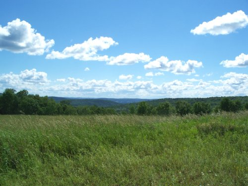 Building Lot With Valley Views : Bainbridge : Chenango County : New York