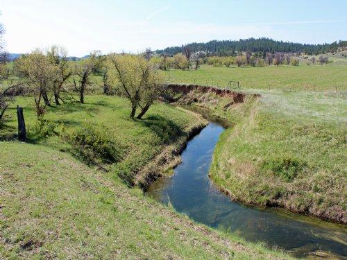A Creek Runs Thru It : Sundance : Crook County : Wyoming