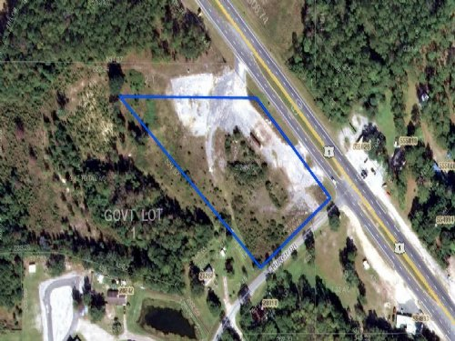 3.34 Commercial Acres : Hilliard : Nassau County : Florida