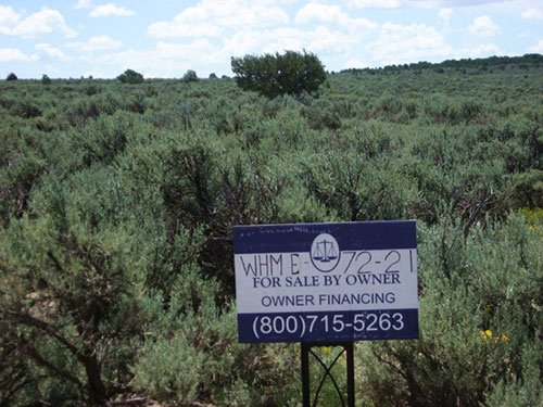 4.06 Acres, Double Lot, Low Down : San Luis : Costilla County : Colorado
