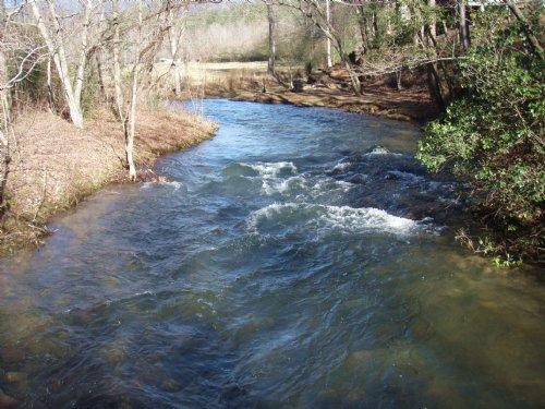Trout Stream In The Cohutta`s : Ellijay : Gilmer County : Georgia