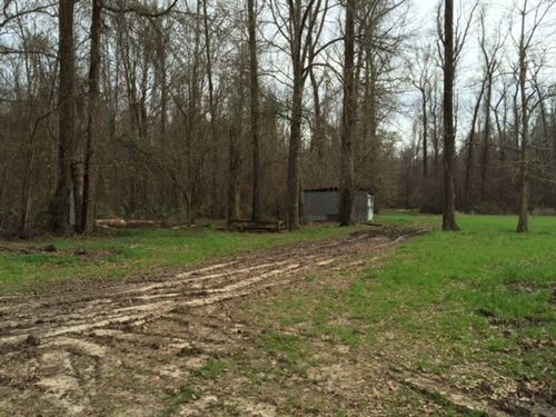2.5 Ac - Hunting & Fishing Camp : Crowville : Madison Parish : Louisiana