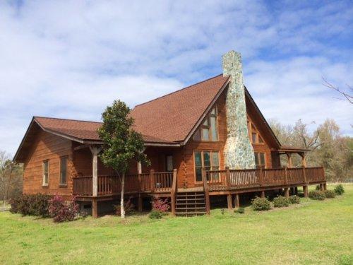 Pond, Cabin, And Pasture : Sandersville : Washington County : Georgia