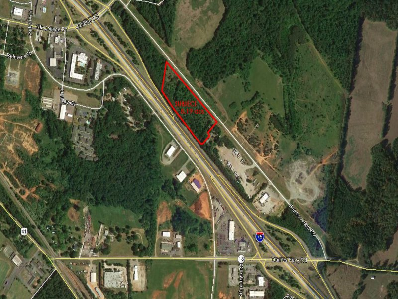 Map Of Georgia On I 75.Reduced Industrial Site Along I 75 Land For Sale Forsyth