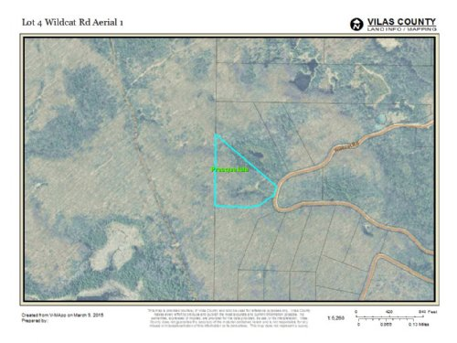 Mls 147869 - Lot 4 Wildcat : Presque Isle : Vilas County : Wisconsin