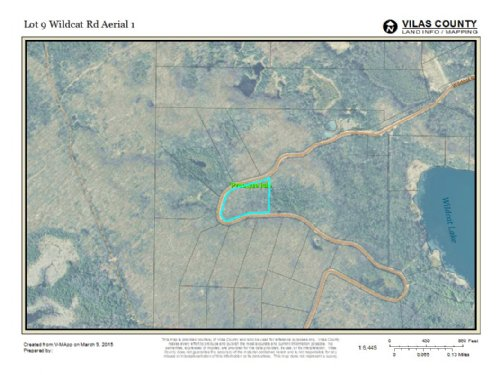 Acreage In Presque Isle : Presque Isle : Vilas County : Wisconsin
