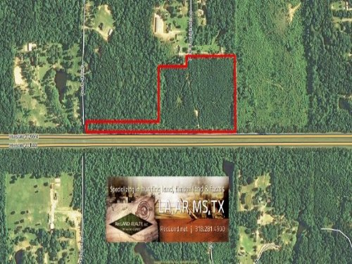 27 Ac - Timberland For Rural Home S : Calhoun : Acadia Parish : Louisiana