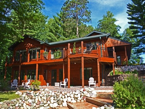 Flawless Malby Lake Home : Minocqua : Oneida County : Wisconsin