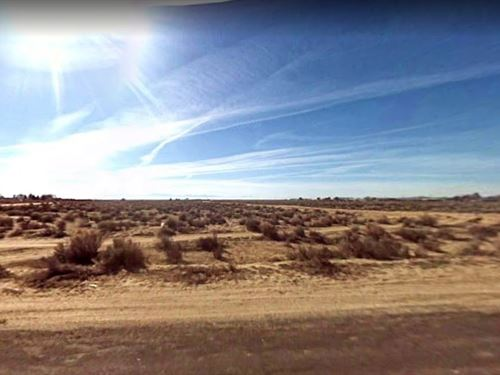 .18 Acres In North Edwards, CA : North Edwards : Kern County : California