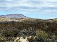 2793 Acre Hunting Ranch : Alpine : Brewster County : Texas