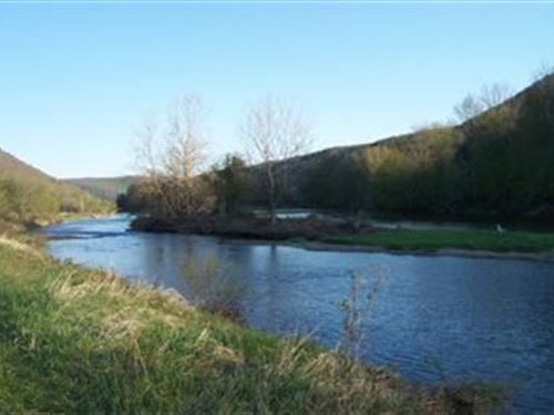 Development, Riverfront, Fly Fish : Deposit : Delaware County : New York