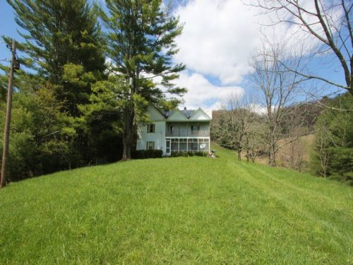 94.6 Acres And Farm House Br Mts : Troutdale : Grayson County : Virginia