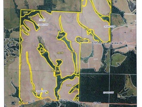 315 Acres Nice Investor Farm : Albany : Gentry County : Missouri
