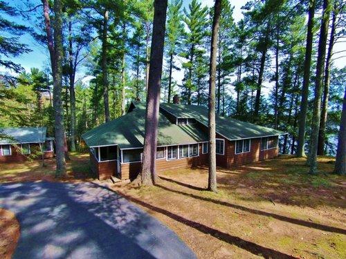 Plum Lake Estate : Plum Lake : Vilas County : Wisconsin