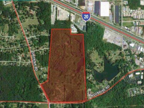 99.7 Acres Klondike Road : Conyers : Rockdale County : Georgia