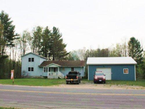 Home Near Oneida Lake 73 Acres : Vienna : Oneida County : New York